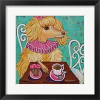 Framed Proper Poodle