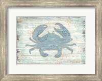 Framed Ocean Crab