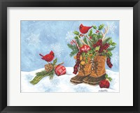 Framed Holiday Boots
