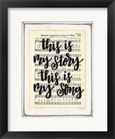 Framed My Story, My Song