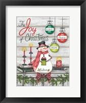Framed Joy of Christmas
