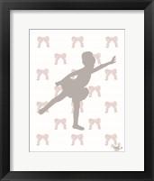 Ballerina Dreams 1 Framed Print