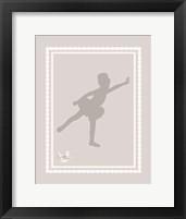 Ballerina Shoes 1 Framed Print