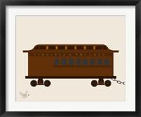 Framed Train Car 1