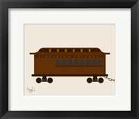Framed Train Car 1