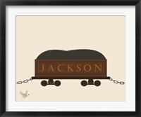 Framed Train Car 2