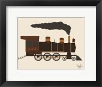 Framed Train Car 3