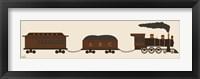 Framed Train Cars
