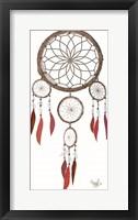 Framed Tribal Cherokee Dreamcatcher