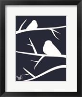 Framed Woodland Birds 1