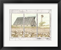 Framed Farmland View