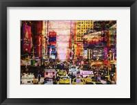 Framed New York Sunset