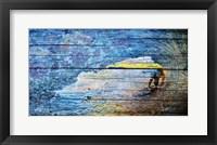 Framed Flower Surf