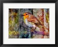 Framed Birdie