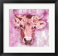 Framed La Vache