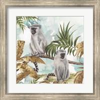 Framed Golden Monkeys
