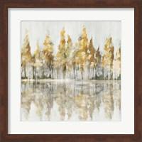 Framed Across the Narrow Lake