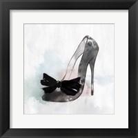 Framed Black Heel I