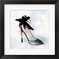 Black Heel II Framed Print