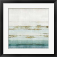 Framed Cerulean Haze II
