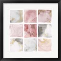 Framed Blush Squares II