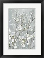 Framed Light Almond Blossoms