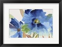 Framed Indigo Bloom