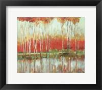 Framed Red Horizon