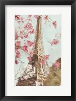 Framed Paris in the Spring I
