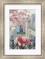 Framed Paris in the Spring II