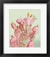 Framed Pink Cacti
