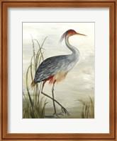 Framed Grey Heron