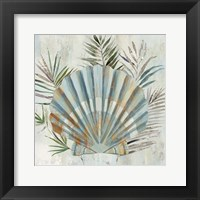 Framed Turquoise Shell II