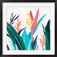 Framed Alpinia I