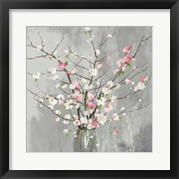 Framed Delicate Pink Blooms
