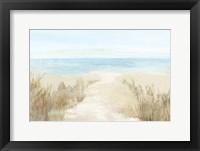 Framed Sunny Beach I
