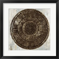 Framed Zulu Gold I