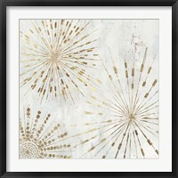 Framed Golden Stars I