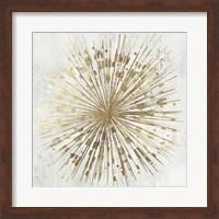 Framed Golden Star