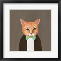 Framed Mr Ginger