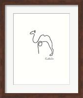 Framed Camel - Embossed