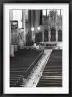 Framed Church Aisle