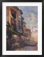Framed Tuscan Twilight