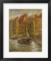 Framed Sails Down