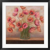 Framed Pink Petals II