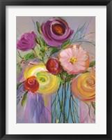 Framed Jubilant Bouquet I
