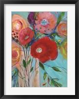 Framed Jubilant Bouquet II