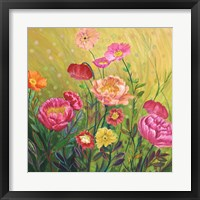 Framed Flower Field II