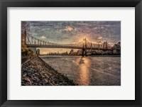 Framed Sunset Behind Queensboro B