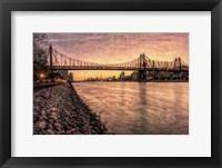Framed Queensboro at Twilight B